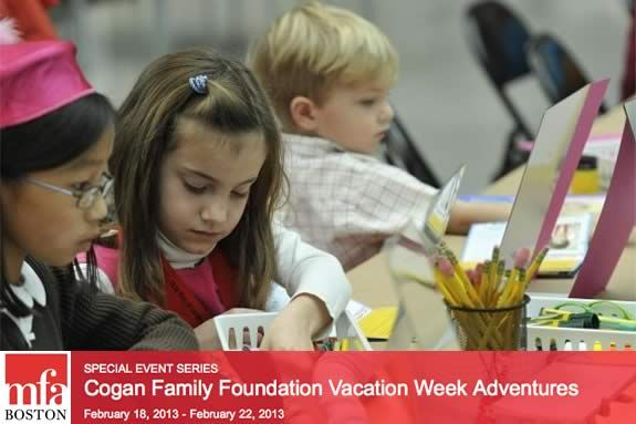 MFA Boston Offers School Vacation Week Activities and an Exhibition for Families