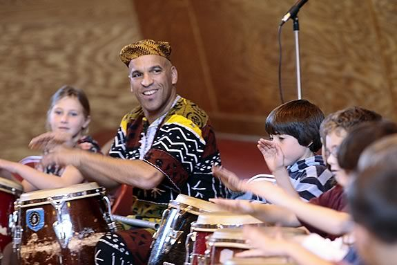 Children's Museum of NH Presents African Drumming with Michael Wingfield