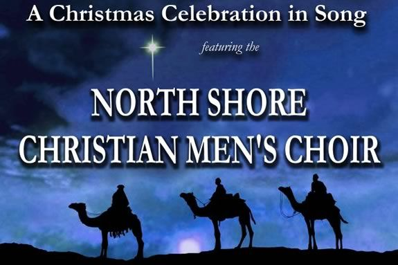 The North Shore Christian Men's Choir will perform FREE in Rockport