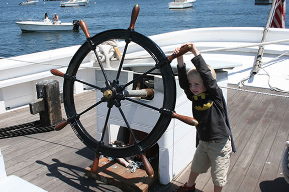 Schooner Adventure's Open House has some great activities for kids!