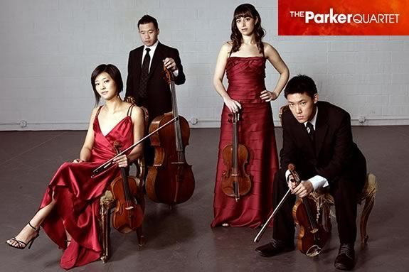 The Parker Quartet will perform a FREE Family concert a the Shalin Liu Center