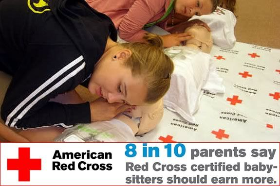 Red Cross Babysitting Certificate Course at North Shore Community College