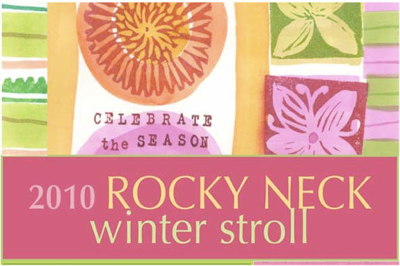 Rocky Neck Art Colony Winter Stroll