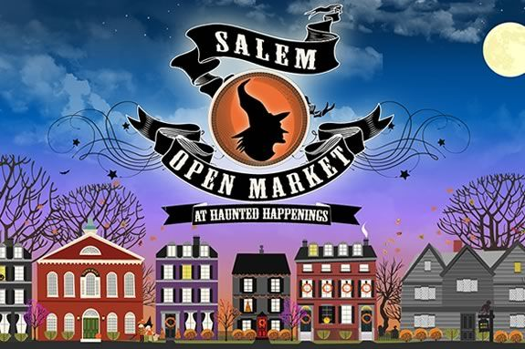 The Salem Open Market runs on weekendsduring the last 3 weeks of October!
