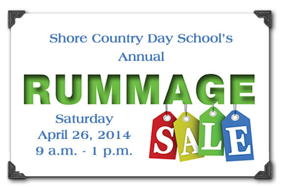 Best rummage sale north of Boston! Shore Country Day School annual rummage sale.