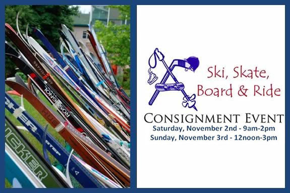 Ski, Skate, Board and Ride Consignment Sale Event for North Shore Families