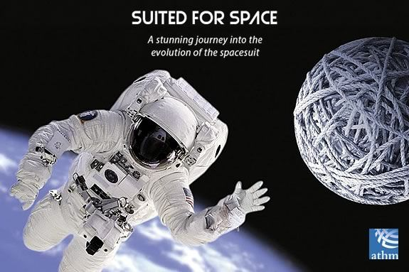 The American Textile History Museum presents Smithsonian's 'Suited for Space'!