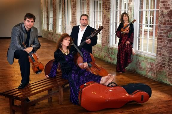 The Bohemian Quartet will perform a FREE concert at Shalin Liu Center Rockport