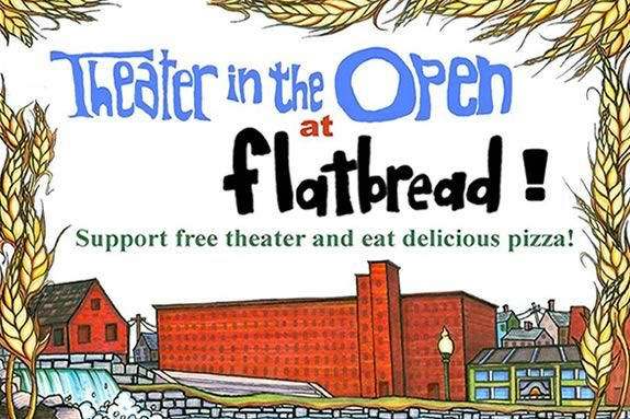 Theater in the Open teams up with Amesbury Flatbread Company to raise funds!