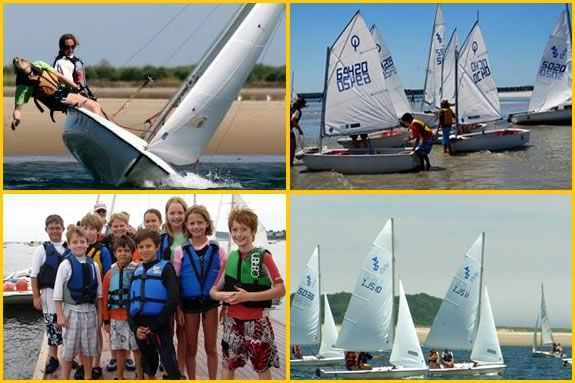 Kids will learn all about sailing, racing and boating safety in this program