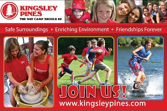 A traditional camp experience. Kingsley Pines is the way camp should be.