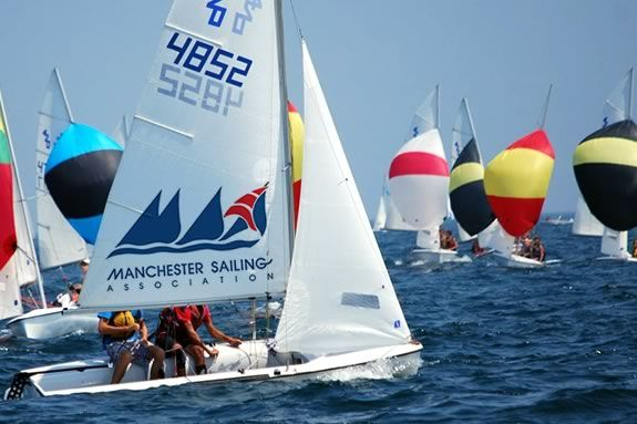 The Manchester Sailing Association teaches kids aged 8 and up how to sail.