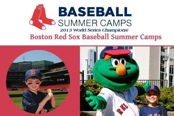 World Series Champions. Red Sox Baseball Summer Camp in Beverly MA for Kids ages