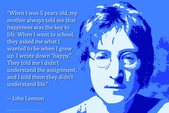 John Lennon was a very enlightened young lad.
