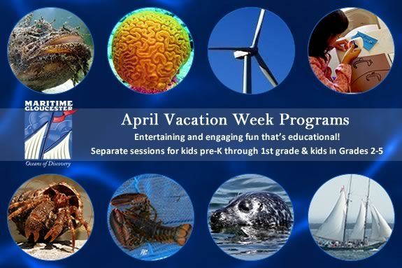 Kids pre-k through grade 5 will love the Vacation programs at Maritime Glouceste