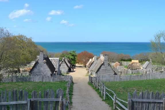 Visit Plymouth Rock and the Plimoth Plantation this Thanksgiving Holiday