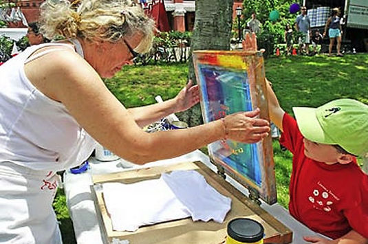 The Children's Festival is just one event of many in the Marblehead Arts Festiva