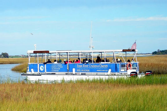 Take a guided tour of the Essex Marshes with Essex River Cruises for Trails & Sa