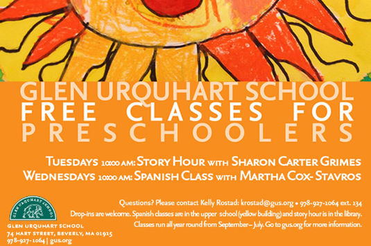 Glen Urquhart School in Beverly MA Classes for preschool children in Beverly MA