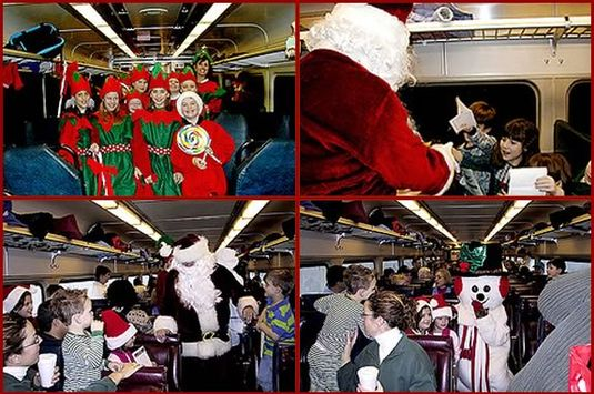The ICS North Pole Express is a great holiday adventure for kids and families