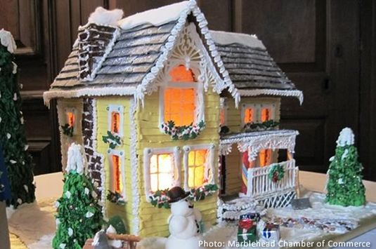 The Marblehead Gingerbread Festival is part of the Marblehead Christmas Walk!