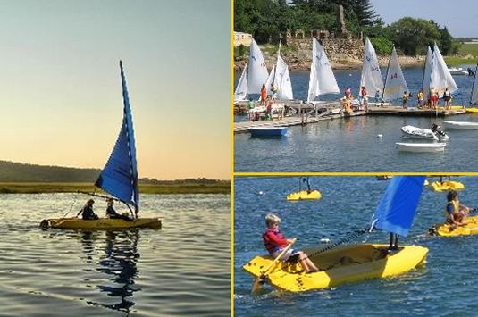 Essex Bay Bay Sailing Club offers a wonderful value for kids to learn sailing!