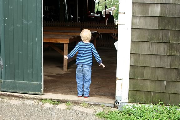 Farm Explorers is a great way for preschoolers to explore Appleton Farms in ipswich Massachusetts!