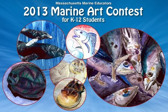 Kids of all ages are invited to enter the 2013 Marine Art Contest!