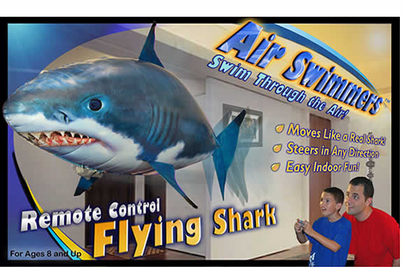 Air Swimmers Remote Control Flying Shark, Angry Bird