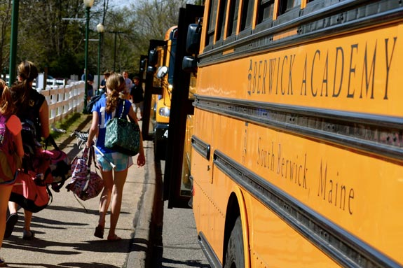 Excellence is Within Reach - Experience the Bus at Berwick Academy!