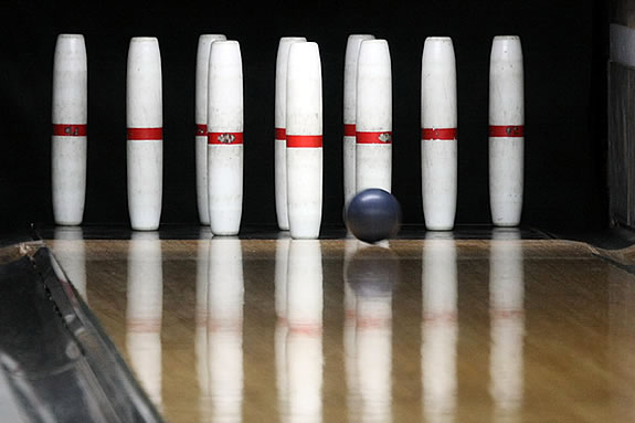 Most North Shore bowling centers still feature candlepin style bowling.