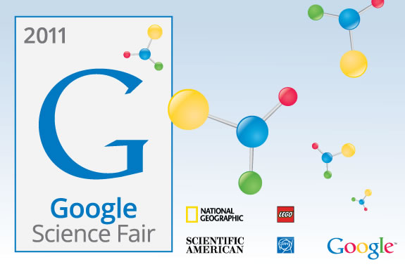 The 2011 Google Science Fair is the first global science fair!