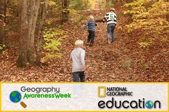 Explore your own community as part of Geography Awareness Week!