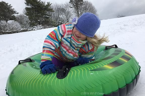 Best Sledding Hills and Slopes on Boston's North Shore of Massachusetts