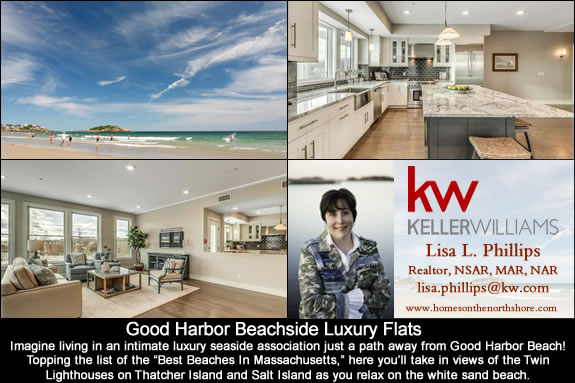 Good Harbor Beachside Luxury Flats in Gloucester MA