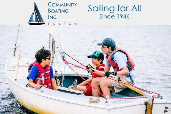 Community Boating Boston Youth Programs