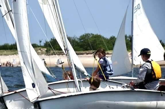 Kids will learn all about sailing, racing and boating safety in The Ipswich Massachusetts Sailing Program