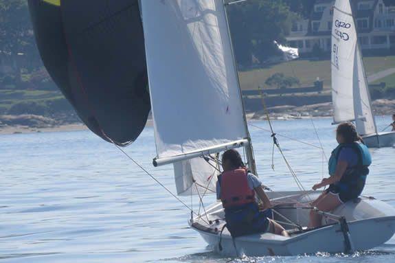 Sail GHS. Gloucester MA