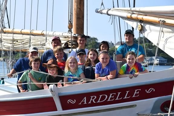 Haul the sails and head out on an adventure of a life time aboard the Schooner Ardelle out of Gloucester!