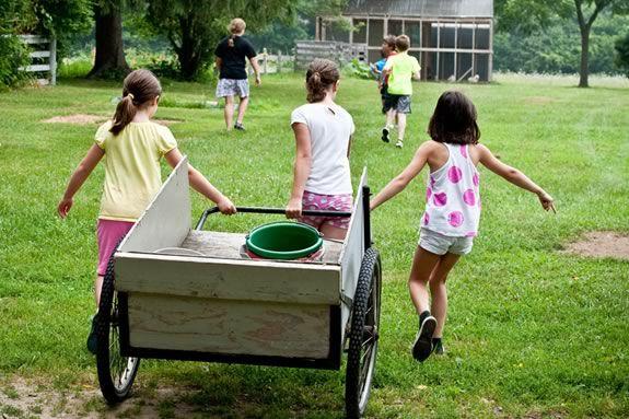 Summer Programs for kids at Spencer-Peirce Little Farm in Newbury Massachusetts