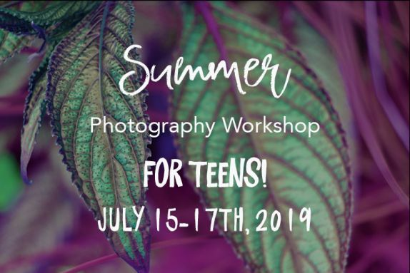 Teen Photography Workshop