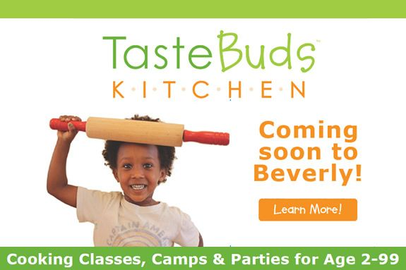 Taste Buds Kitchen in Beverly MA. Summer cooking classes and birthday parties for kids and adults.