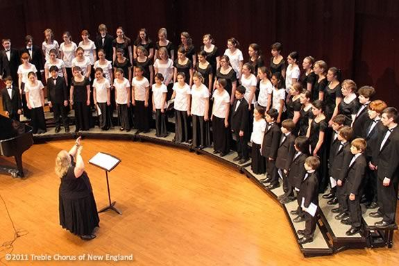"""The Treble Chorus of New England Presents """"Mother's Day Spring Treats"""""""