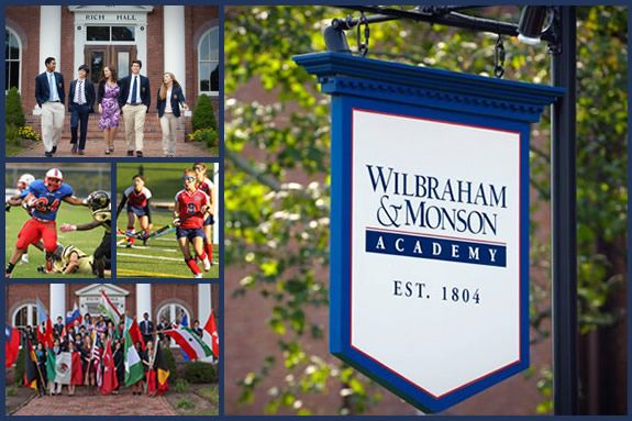 Wilbraham & Monson Academy education for students grades 6-12. Willbraham & Mons
