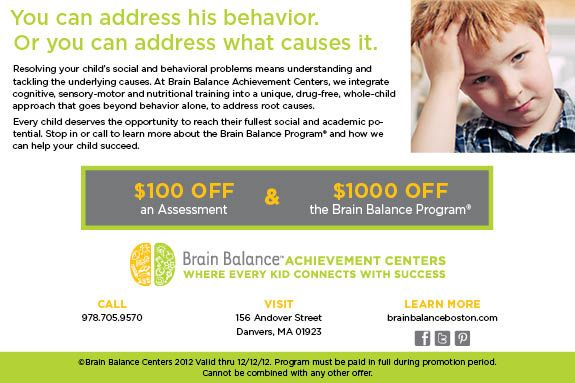 Brain Balance Achievement Center Danvers MA Information Night