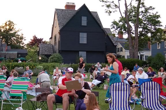 Celebrate the Foruth of July at the House of Seven Gables in Salem Massachusetts!