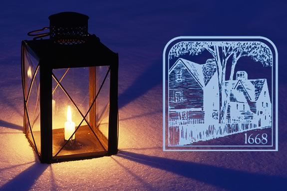 Tour the House of Seven Gables by lantern light through December.