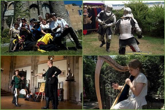 The Abbadia Mare Festival is a fundraiser Renaissance Faire for Hammond Castle