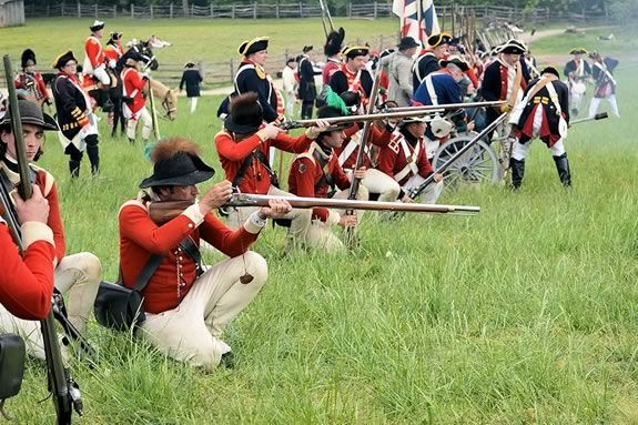 Escape from Boston Revolutionary War Reenactment - Spencer-Peirce-Little Farm - The Acton Minutemen - His Majesty's 10th Regiment of Foot in America