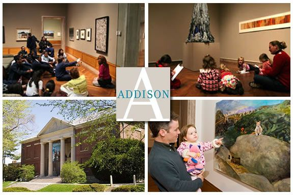 Addison Family of American Art hosts a day of family activities during February vacation in Andover Massachusetts